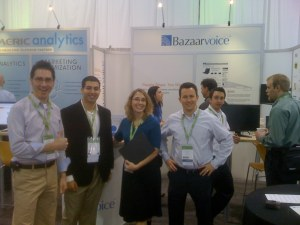 The Bazaar Voice team. Hey they're going through our Dave Ramsey Financial Peace University materials!