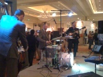 The Band at the Opening Reception
